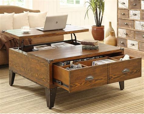 Wine Crate Desk Best 25 Coffee Table With Storage Ideas On Pinterest