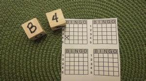 dice bingo printable dice bingo game an easy game to make and play fun for