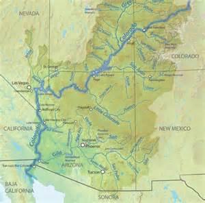 the colorado river route