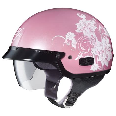 ladies motorcycle helmet hjc is 2 blossom women s helmet revzilla