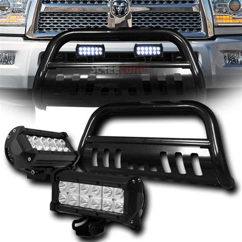 ram 2500 light bar 2010 2015 dodge ram 2500 3500 front bull bar guard 36w