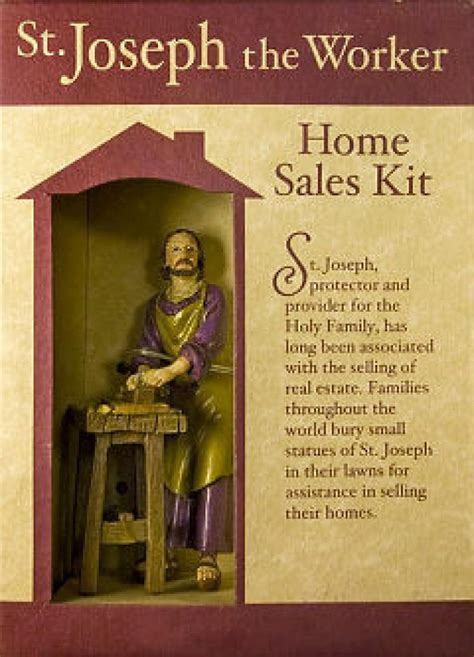 how a statue of st joseph can help sell your home ny