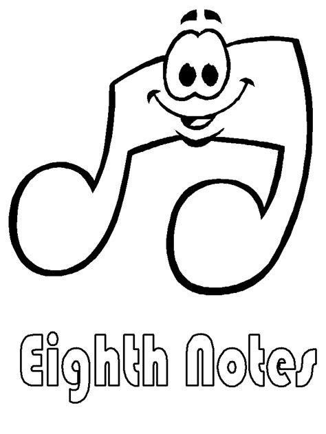 music coloring pages to print coloring pages of music notes coloring home
