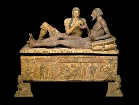 Sarcophagus Of Reclining by 83 Best Images About H Etruria On Statue Of