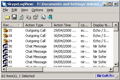 log file reader windows skype logs reader viewer dbb and db files