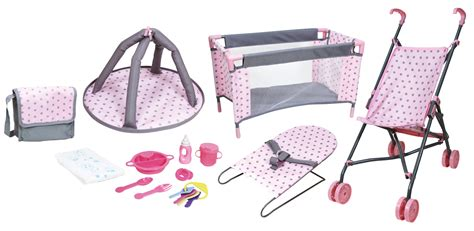 kmart doll bed lissi dolls 16 quot deluxe nursery doll playset colors may