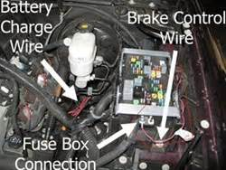 brake controller installation    chevrolet silverado  crew cab etrailercom