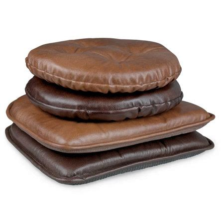 Stool Pads by Faux Leather Chair Pad