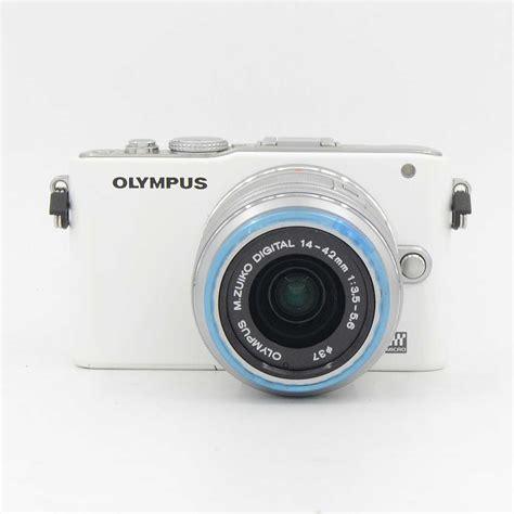 Kamera Olympus Pen E Pl3 used olympus pen lite e pl3 kit14 42mm l ed box