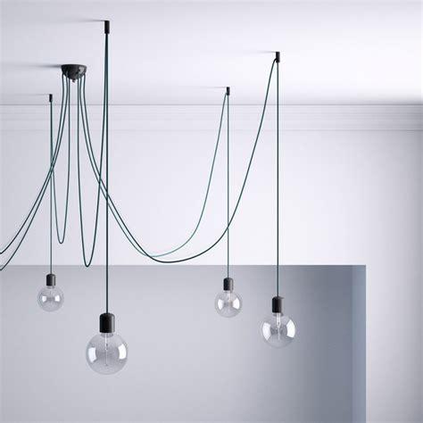 Dimmable Chandelier Kit De D 233 Centralisation Crochet Au Plafond Noir Pour