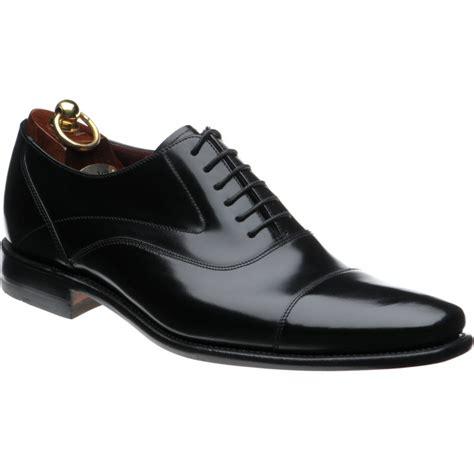 Sharp Black loake shoes loake design sharp in black polished at