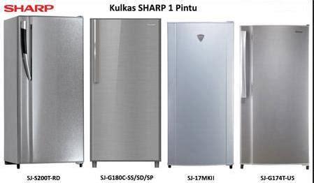 Harga Merk Kulkas Sharp daftar harga kulkas sharp 1 pintu terbaru april 2018