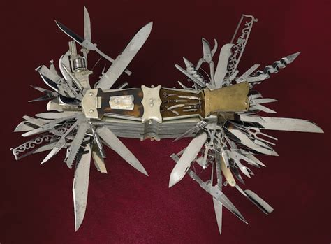 largest multi tool this multi bladed folding knife was made in germany around