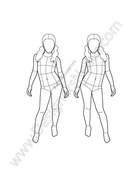 fashion templates fashion templates pictures to pin on pinsdaddy