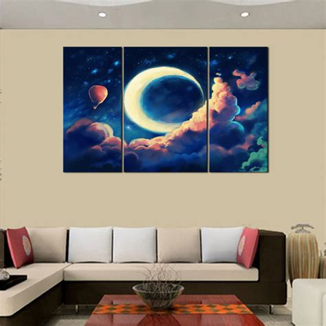 abstract canvas wall unframed canvas print home decor