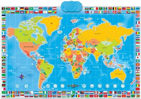 interactive world map with country names facts for