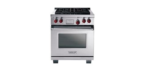 wolf 30 quot dual fuel 30 quot wolf dual fuel range contemporary gas ranges and electric ranges by sub zero and wolf