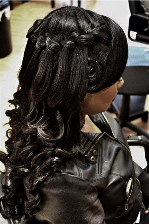 Indian Wedding Hair Half Up by 25 Best Ideas About Black Wedding Hairstyles On