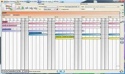 Calendrier 4x8 Logiciel Planning Chantier Gratuit