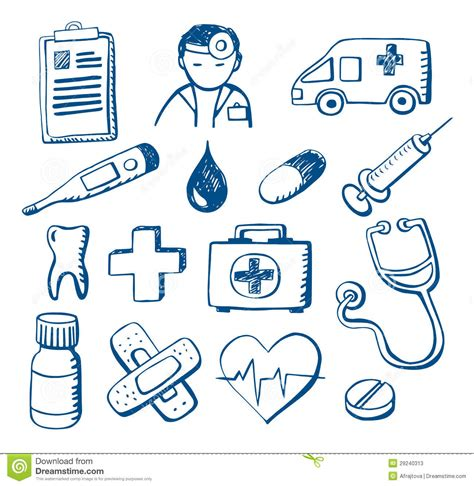 doodle doctor free doodles stock photos image 29240313