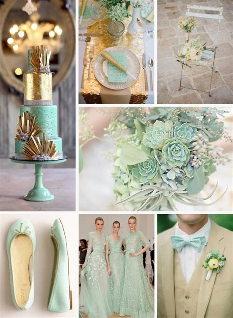 ruby wedding inspiration mint green teal and gold wedding mint and gold wedding inspiration