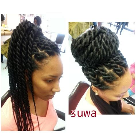 twists with extension hair known as marley braid hair instead havana twists protective hairstyles pinterest twists