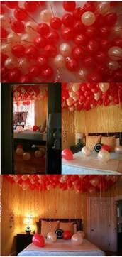 Romantic Things To Do In The Bedroom Surprise Balloons Fill A Whole Room For Any