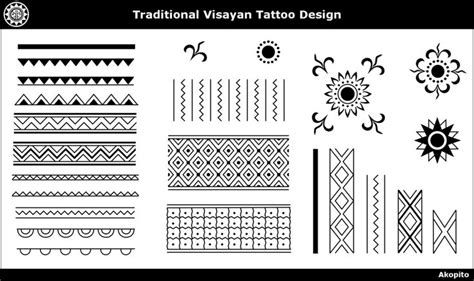 Pattern Meaning In Tagalog   traditional visayan tattoo design by akopito deviantart