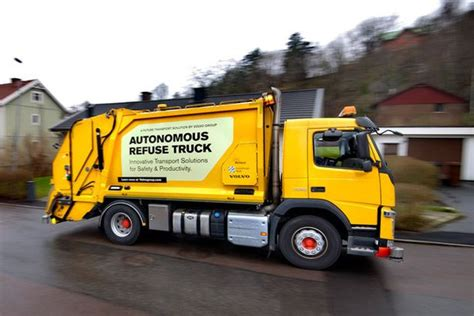 volvo group trucks technology first builders waiters and journalists now binmen are