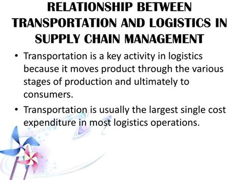Mba In Logistics And Supply Chain Management In Pakistan by Ppt Transportation Pl201 Fundamental Of Logistics