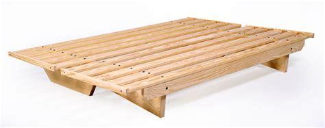 wooden futon frame ez sofa futon frame