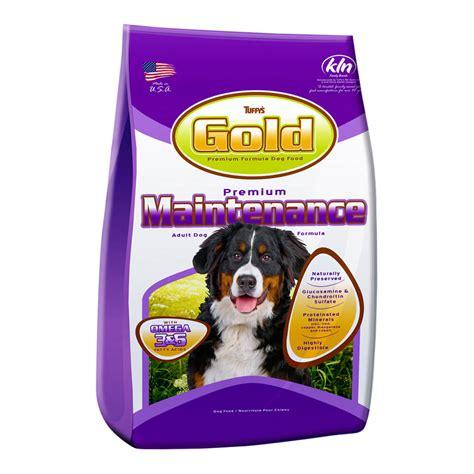 Gold Tuffys Premium Food 1kg Tuffys Gold Premium Maintenance Food