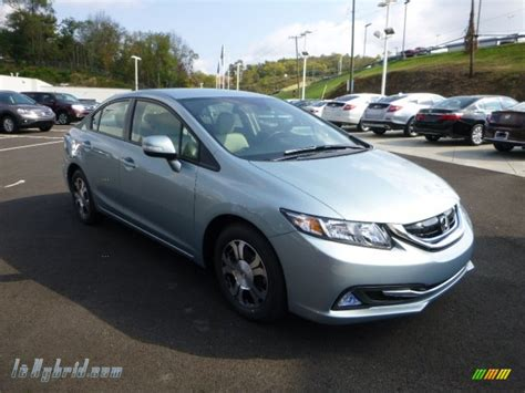 2013 Honda Civic Hybrid Sedan In Green Opal Metallic