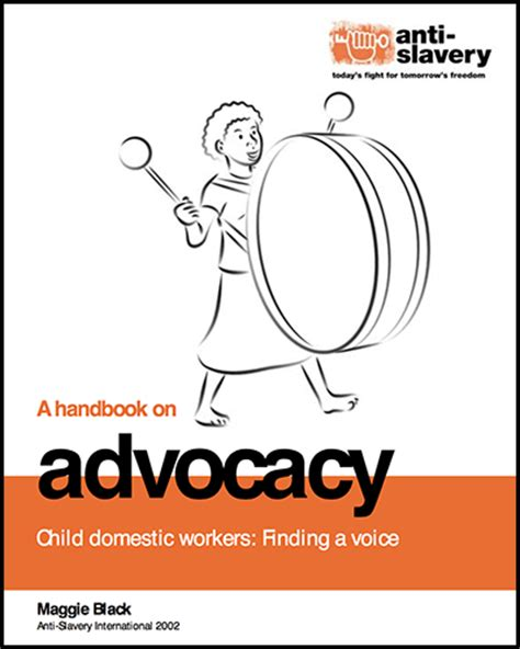 an impact a handbook on counselor advocacy books child domestic workers finding a voice a handbook on