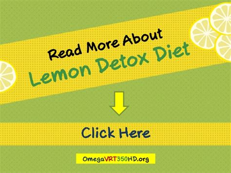10 Day Lemon Cleanse Detox by Lemon Detox Diet Plan Are You Ready For 10 Day Lemon Fast