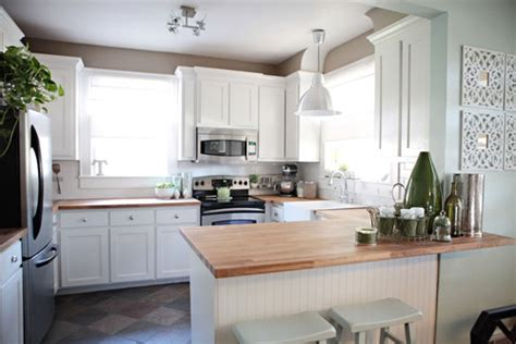 young house love kitchen cabinets sense and simplicity 4 great countertop colours for white