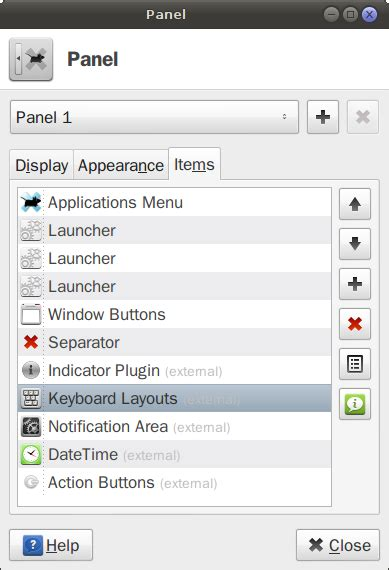 keyboard layout xfce are keyboard layout settings handled by two different