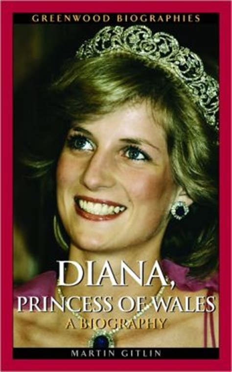 biography of lady diana book diana princess of wales a biography by martin gitlin