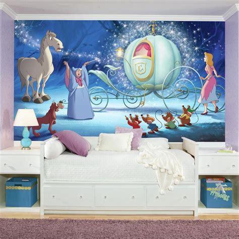 disney roommates wallpaper roommates 72 in x 126 in disney princess cinderella