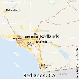 california map redlands best places to live in redlands california