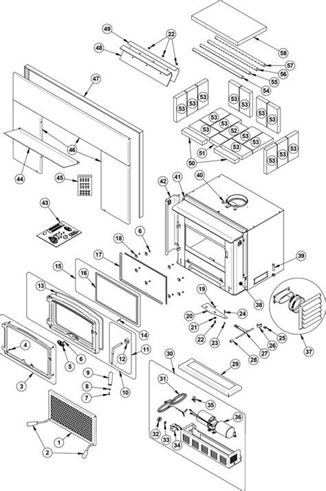 osburn 2200 insert parts diagram