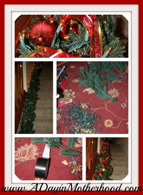 repurpose an old artificial christmas tree