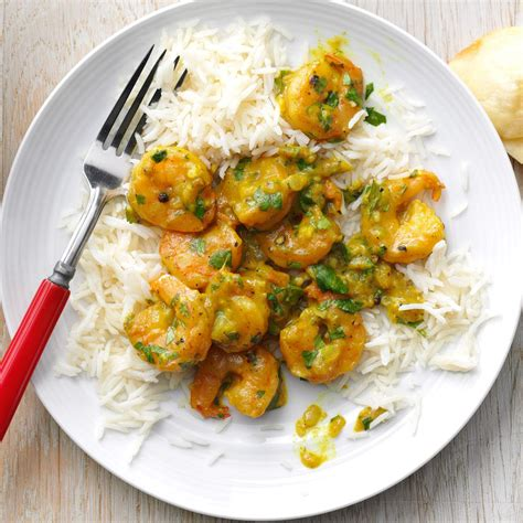 curry shrimp recipe taste of home