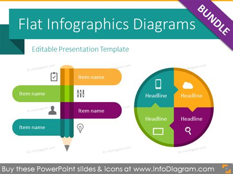 Bundles Powerpoint Templates Powerpoint Infographic Template