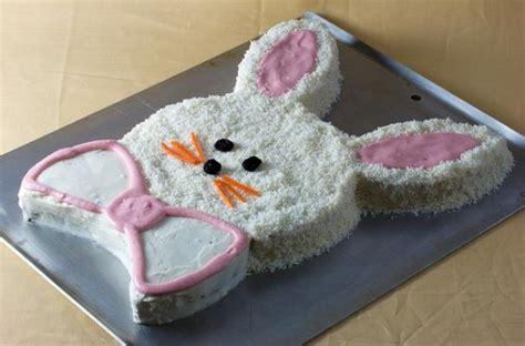 kuchen ostern einfach foodista easy easter bunny cake