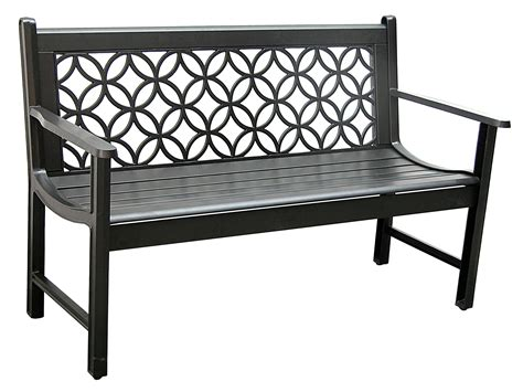 patio furniture bench patio furniture bench traditional aluminum metro