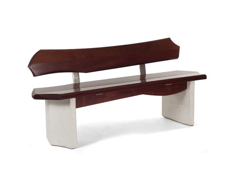 contemporary bench with back nico yektai bench 5 series 2 modern bench with back