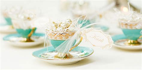 Wedding Favors Tea Cups by Inspired By These Fall Inspired Wedding Tea Time