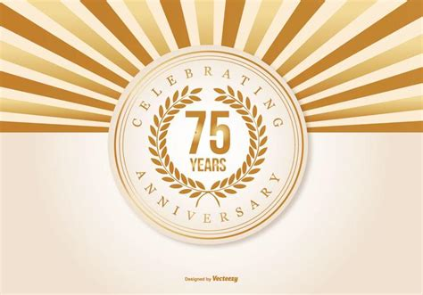 Wps132 Silver Vector Wallpaper Sticker beautiful 75 year anniversary illustration free vector stock graphics images