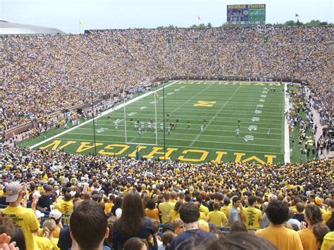 how many seats in the big house now you can get married at the university of michigan s big house
